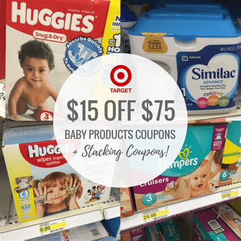 Target Gift Card Promotion Code - 15 target gift card with 75 baby purchases stacking coupons