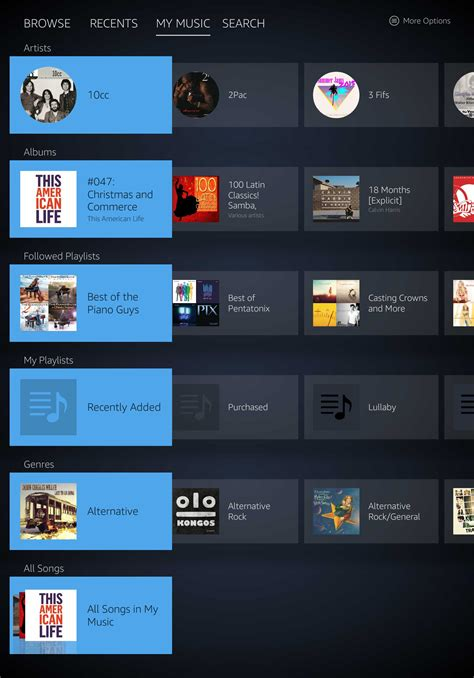 amazon music app amazon music app 16 my music aftvnews
