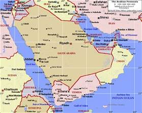 Arabian Peninsula On World Map by Arabian Peninsula Map Related Keywords Amp Suggestions