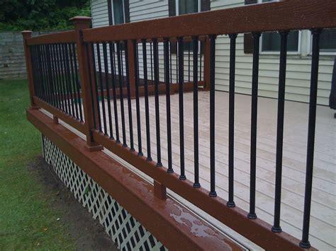 metal balusters for deck railings autumnwoodconstruction