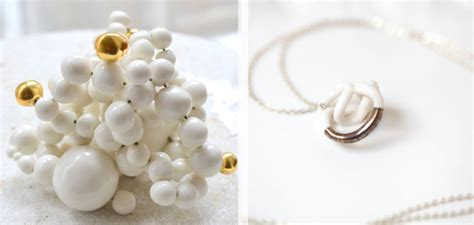 how to make porcelain jewelry to wear handmade porcelain jewelry from goutte de