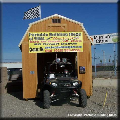 Atv Storage Shed by Sally Detail Shed Building Ideas