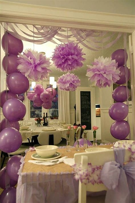birthday decoration ideas at home for girl 25 best ideas about streamer decorations on pinterest