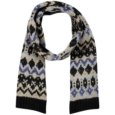 mens chunky knit scarf s chunky knit coloured scarf black charcoal clothing