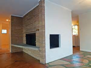 mid century fireplace 1955 mid century modern house time capsule just 1 300 s f but packed with spectacular