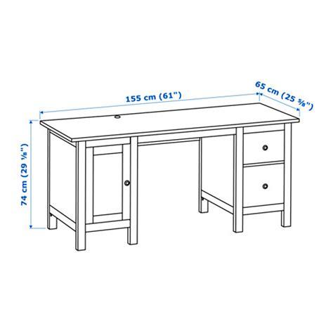 average computer desk depth schreibtisch ikea hemnes rheumri com