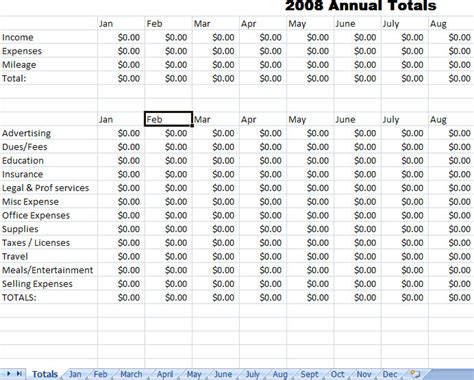 income report template best photos of monthly expense report excel business