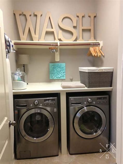 Small Laundry Room Decor 60 Amazingly Inspiring Small Laundry Room Design Ideas
