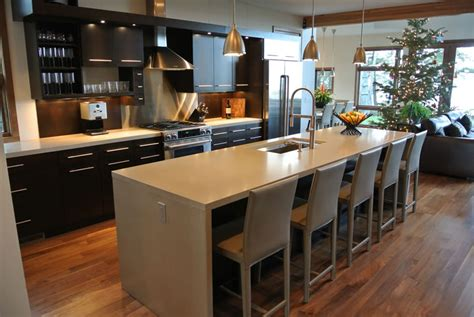 Kitchen Countertops Grand Rapids Mi by Topix Precast Concrete Countertop Kitchen Island