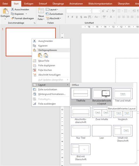 neues layout powerpoint erstellen anleitung so erstellen sie platzhalter f 252 r ihre vorlagen