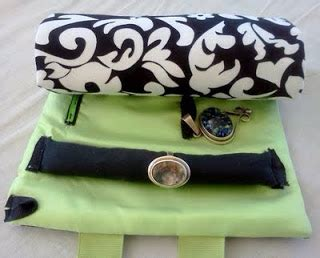 somethingseablue: travel jewelry roll cases! how to
