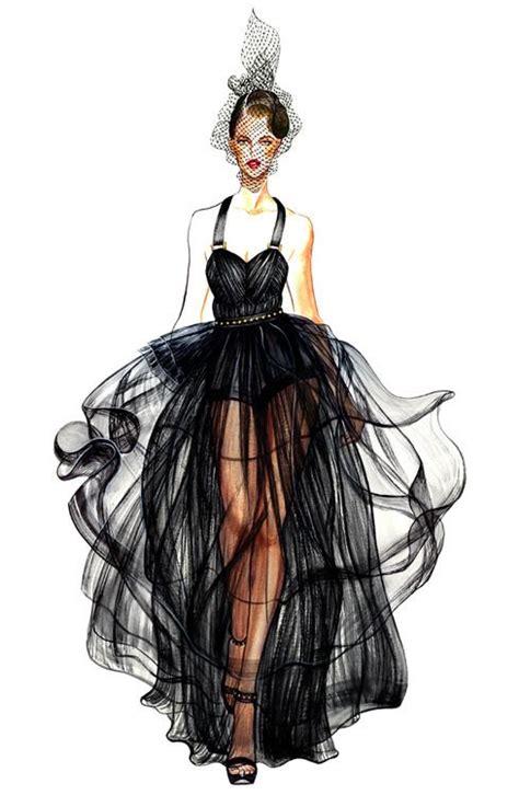 fashion illustration freelance fashion illustration dessin de mode robe mousseline