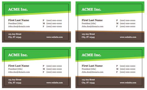 business card web site template free business card templates top form templates