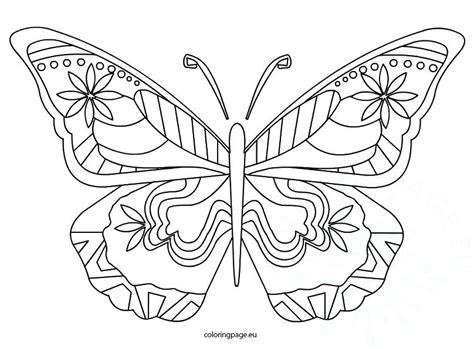 butterfly coloring pages pdf home improvement butterfly coloring page coloring page