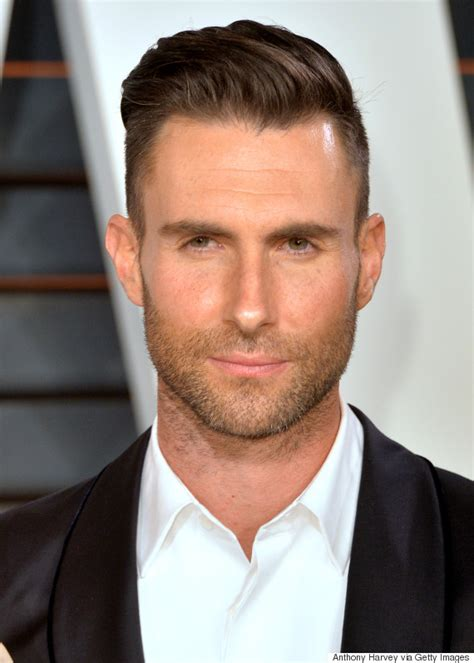 mens sideburns styles throught the centuries young adam levine sported a very silly goatee huffpost