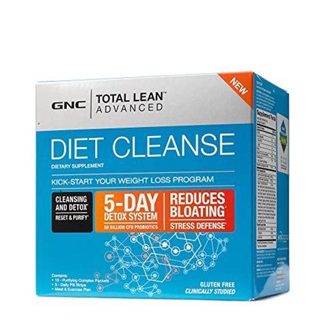 Gnc 14 Day Detox Review by Gnc Total Lean Advanced Diet Cleanse 5 Day Program Buy