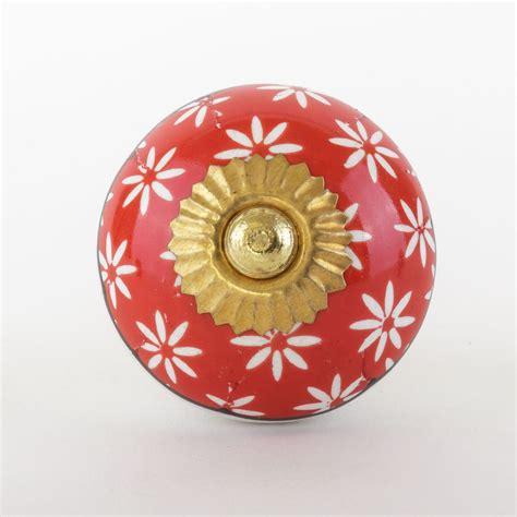 orange gold ceramic door knobs handles furniture