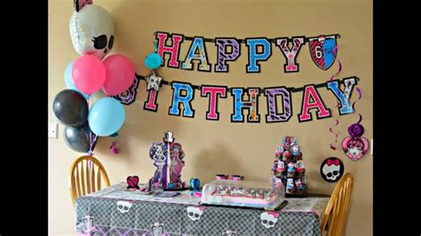surprise birthday party decorations ideas youtube