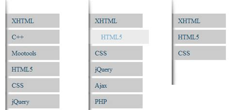 tutorial menu css jquery css 55 css menu and button coding tutorials 学步园