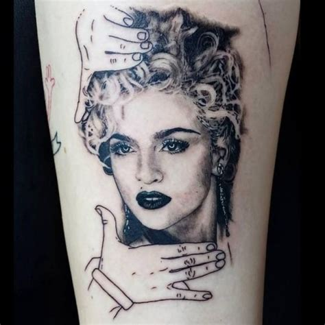 madonna tattoo permanent markings 13 artists with bold black