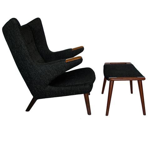 ottoman chairs for sale original hans wegner papa chair and ottoman stuff i