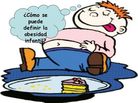 imagenes animadas obesidad la obesidad infantil charla