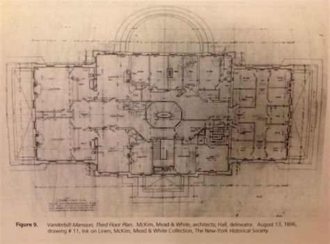 vanderbilt floor plans vanderbilt mansion hyde park 3rd floor gilded age mansions pinterest