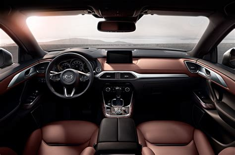 mazda cx9 interior 2016 mazda cx 9 look review motor trend