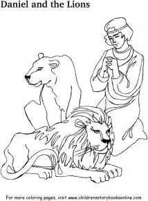 daniel in the s den coloring page daniel coloring sheets