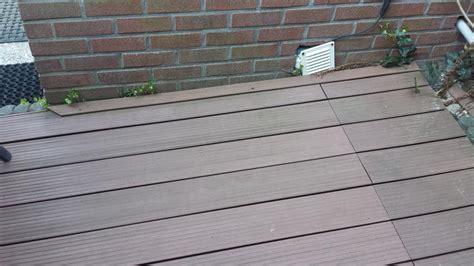 Wat Is Planken by Een Stuk Terras 5 Bij 3 Meter Composiet Planken