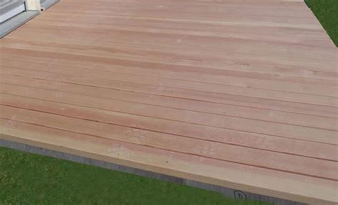 terasse mit holz 914 holzterrasse douglasie natur holz terrassen selber bauen
