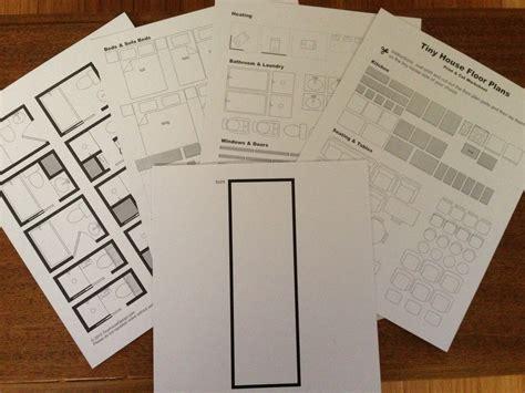 plan house printing print cut floor plan worksheet tiny house design