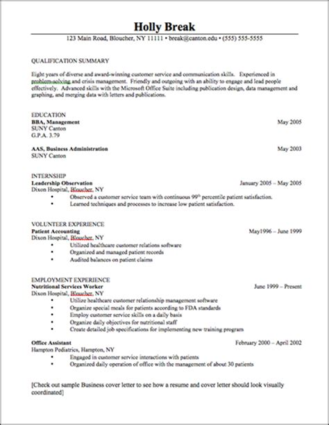 career services resume career services sle resumes