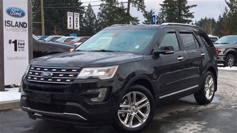 2017 ford explorer limited 2017 ford explorer limited w navigation active park
