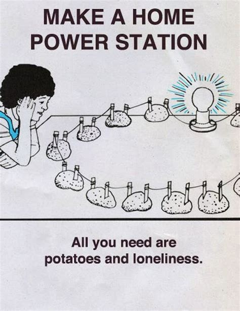 How To Make A Funny Meme - funny make a home power station cartoon funny joke pictures