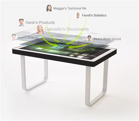 tablertv touch screen table for business entertainment