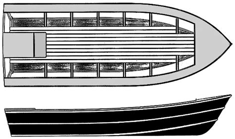 aluminum dory boat plans chunky dory a modified pacific power dory