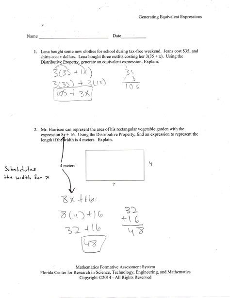 worksheet distributive property worksheet 6th grade