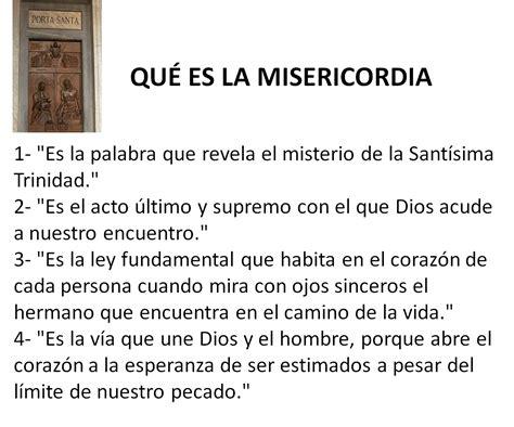 191 qu 233 significa que el papa haya ordenado intervenir el sodalicio radio san mart 237 n que significa la palabra papa 191 qu 201 es la misericordia y misericordia