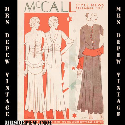 Vintage Pattern Catalog | vintage pattern catalog booklet mccall style news by mrsdepew
