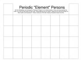 blank periodic table 6 best images of printable blank periodic table blank