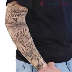 Temporary tattoo sleeve