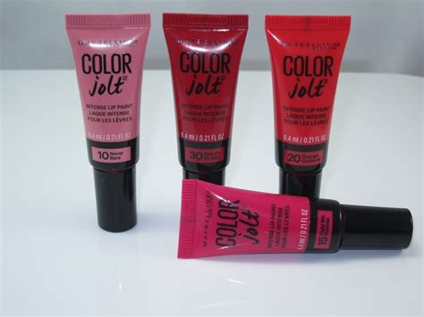 Maybelline Colour Jolt 10 drugstore makeup buys that are muse approved musings