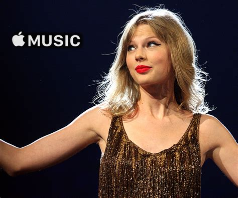 taylor swift and apple music apple accepts the worst deal in music streaming thanks