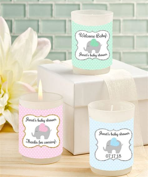 Baby Shower Votive Candle Favors 10 great ideas for baby shower candles baby ideas