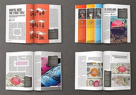 template indesign jornal spreading the maglove free indesign magazine templates