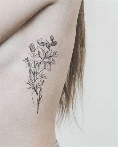 daffodil tattoos daffodil for tattoos on