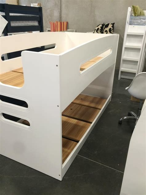 single bunk bed single bunk bed lowline new design white goingbunks biz