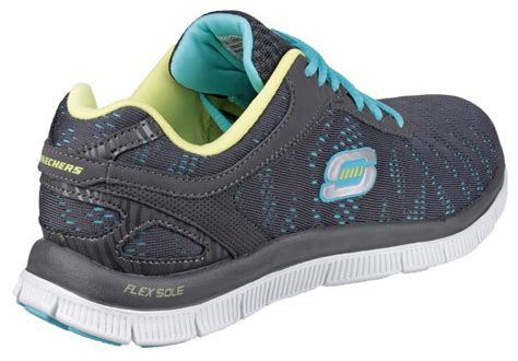 sketcher sports shoes sketchers flex appeal glance womens sports