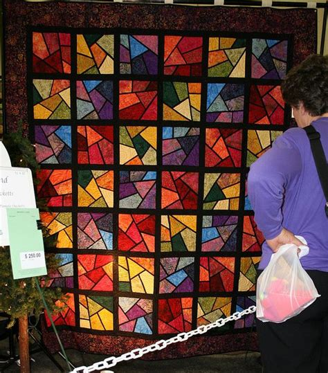 Stained Glass Patchwork Patterns - the 25 best stained glass quilt ideas on
